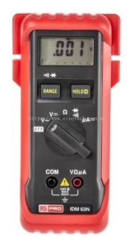 123-3240 - RS PRO IDM63N Handheld Digital Multimeter