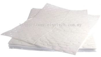 RS PRO, 100 Per Package. Oil Spill Absorbent Pad 90 L Capacity