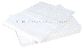 771-6395 - RS PRO, 20 Per Package. Oil Spill Absorbent Pad 18 L Capacity