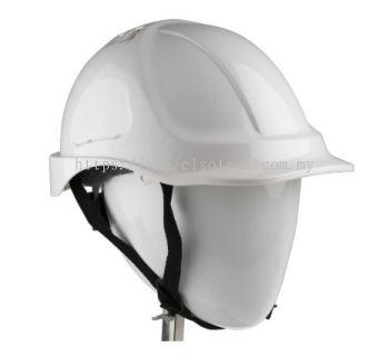 918-5658 - S PRO White ABS Standard Peak Vented Hard Hat
