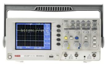 123-3538 - RS PRO IDS6052U Oscilloscope, Digital Storage, 2 Channels, 50MHz