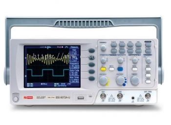 124-0229 - RS PRO IDS6072AU Oscilloscope, Digital Storage, 2 Channels, 70MHz