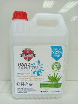 Sanitor IP-HG Hand Sanitizer Alcohol Based Gel 5 Liters