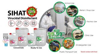 Sihat Virucidal Disinfectant (Concentrated) 5LT / 20LT