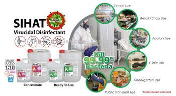 Sihat Virucidal Disinfectant (Concentrated) 5LT / 20LT
