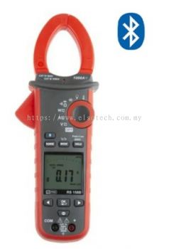 162-4458 - RS PRO 158B Bluetooth Clamp Meter, Max Current 1kA ac, 100A dc CAT III 1000 V, CAT IV 600