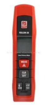 126-8183 - RS PRO ILDM-30 Laser Measure, 0.05 30 m Range, ±1.5 mm Accuracy