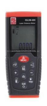 126-8819 - RS PRO RSLDM-80H Laser Measure, 0.05 80 m Range, ±1.5 mm Accuracy