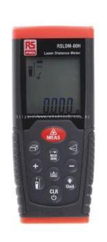 126-8184 - RS PRO RSLDM-100H Laser Measure, 0.05 → 100 m Range, ±1.5 mm Accuracy