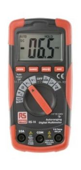 123-1938 - RS PRO RS14 Handheld Digital Multimeter, 10A ac 600V ac 10A dc 600V dc