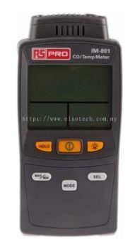 106-5305 - RS PRO Carbon Monoxide Gas Detector, Backlit LCD