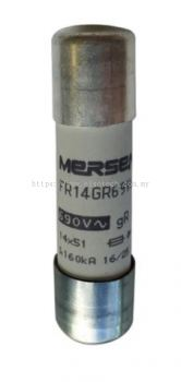 C1017200J - Mersen, 10A Cartridge Fuse, 14 x 51mm