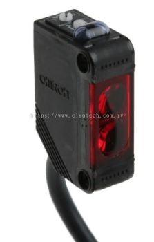 E3ZR812M - Omron Retro-Reflective Photoelectric Sensor 100 mm �� 4 m Detection Range PNP-NO/NC IP69K