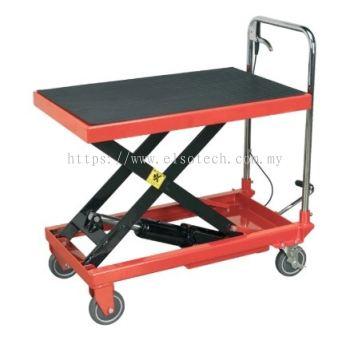 851-7537 - RS PRO Flatbed Steel Platform Trolley, 820 x 520 x 770mm, 300kg Load