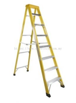553-826 - RS PRO Fibreglass Step Ladder 8 steps