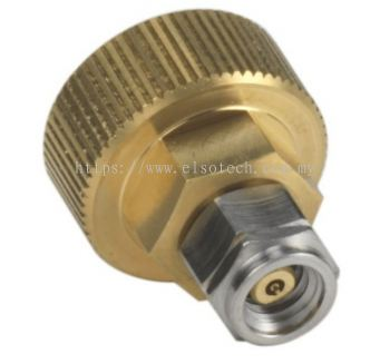 Y1900C Adapter, 1.0 mm (m) to ruggedized 1.0 mm (f), DC to 120 GHz