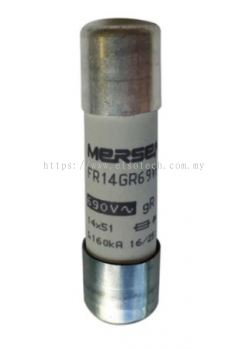 C1017200  - Mersen, 10A Cartridge Fuse, 14 x 51mm