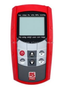RS PRO RS MH 5130 + RS MSD 25 BAE Absolute Manometer With 1 Pressure Port/s
