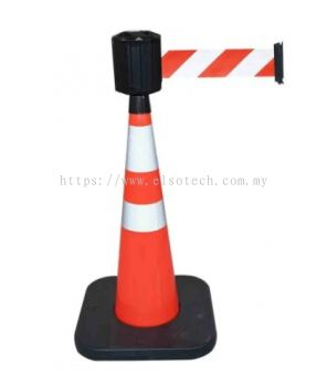 RCX1041RB RS PRO Red & White Barrier & Stanchion, Barrier