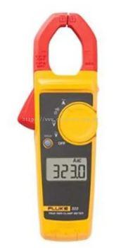 Fluke 323 AC Current Clamp Meter, Max Current 400A ac CAT III 600V