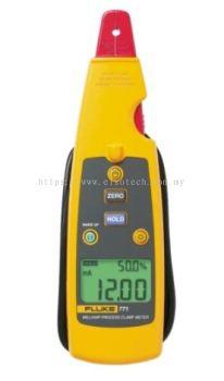 Fluke 772 DC Current Clamp Meter, 99.9mA dc, Max Current - A ac,