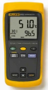Fluke 51 II E, J, K, T Input Wireless Digital Thermometer