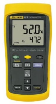 Fluke 52 II E, J, K, T Input Wireless Digital Thermometer