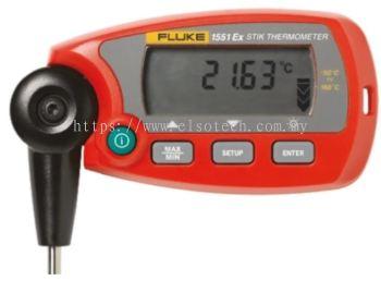 Fluke 1551A RTD Input Wireless Digital Thermometer