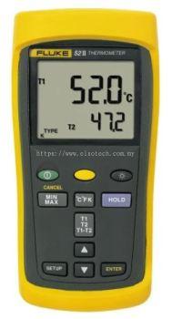 Fluke 53 II E, J, K, N, R, S, T Input Wireless Digital Thermometer