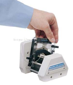 EW-07519-06 Masterflex L/S® Multichannel Cartridge Pump Head for Microbore and Precision Tubing, 8-c