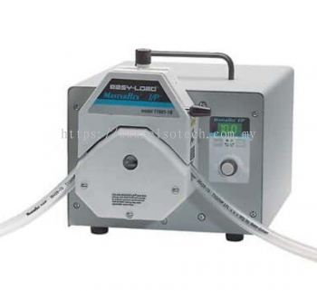 EW-77963-10 Masterflex I/P® Brushless Process Drive with Easy-Load® Pump Head for Precision Tubing,
