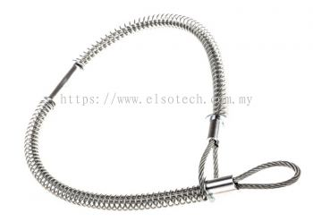 362-7709 RS PRO Galvanised Steel Hose Whipcheck, Compatible Hose Sizes 1/2 → 1-1/4in, Breaking Stren