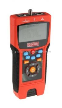 136-8577 RS PRO Cable Tester Cat 5e, Cat 6, Cat 6a, Coaxial, LAN, STP, UTP