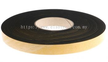 619-1770 RS PRO Black Foam Tape, 20mm x 10m, 3mm Thick