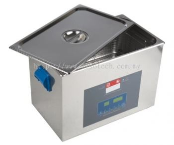 124-9723 RS PRO Ultrasonic Cleaner, 500W, 27L with Lid