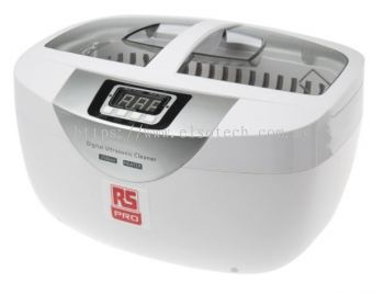 136-8565 RS PRO Ultrasonic Cleaner, 50W, 2.5L with Lid
