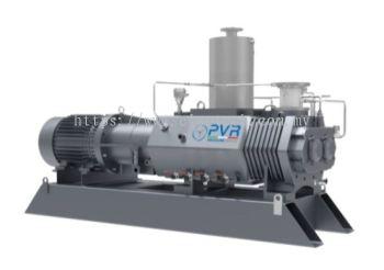 Screwvac SD series Ultimate pressure: ≤ 0,01 mbar Pumping speed: 110÷2700 m3/h