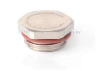 211-6788 - RS PRO ATEX M12 Plug, Nickel Plated Brass, 12.2mm, Threaded, IP68