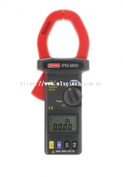123-2208 - RS PRO IPM6600 Power Clamp Meter, Max Current 2kA ac CAT III 600 V