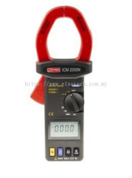 123-2206 - RS PRO ICM2000N AC/DC Clamp Meter, 2.5kA dc, Max Current 2.1kA ac CAT III 600 V