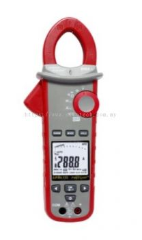 162-4455 - RS PRO 155B Bluetooth Power Clamp Meter, Max Current 600A ac CAT III 1000 V, CAT IV 600 V