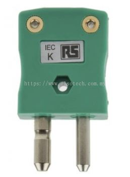362-9991 - RS PRO IEC Thermocouple Connector for use with Type K Thermocouple Type K, Standard