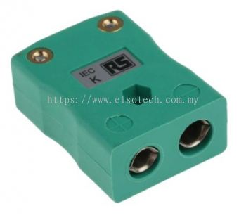 363-0008 - RS PRO IEC Thermocouple Connector for use with Type K Thermocouple Type K, Standard