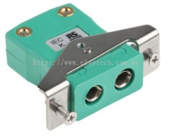 456-0102 - RS PRO IEC Thermocouple Connector for use with Type K Thermocouple Type K, Standard