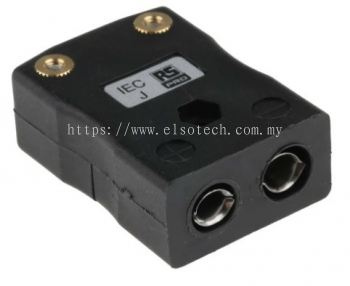 455-9950 - RS PRO IEC Thermocouple Connector for use with Type J Thermocouple Type J, Standard