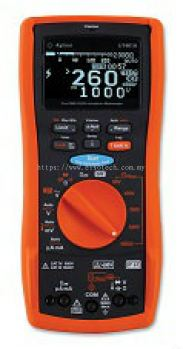 U1453A Insulation Resistance Tester, OLED display, 50V to 1kV