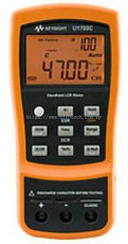 U1732C 100Hz/120Hz/1kHz/10kHz Handheld LCR Meter