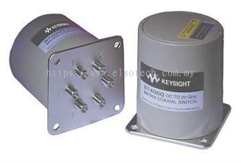 87406Q Low PIM Coaxial Switch, DC to 20 GHz, Matrix