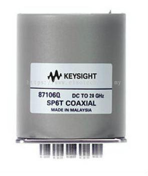87106Q Low PIM Coaxial Switch, DC to 20 GHz, SP6T
