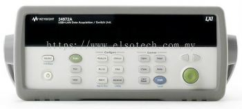 34972A LXI Data Acquisition / Data Logger Switch Unit